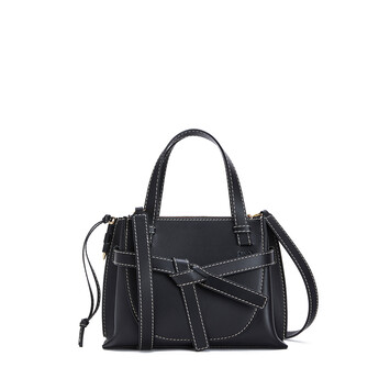 LOEWE Gate Top Handle Mini Negro front