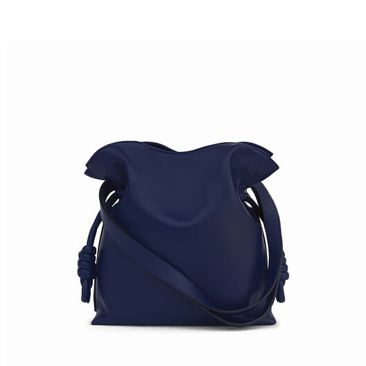 LOEWE Flamenco Knot Small Bag 海军蓝 front