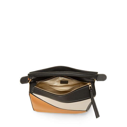 LOEWE Puzzle Bag Amber/Light Oat front