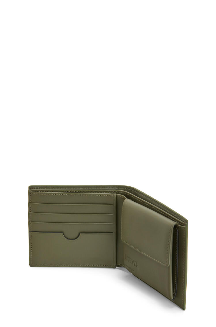 LOEWE Bifold coin wallet in smooth calfskin Cognac pdp_rd