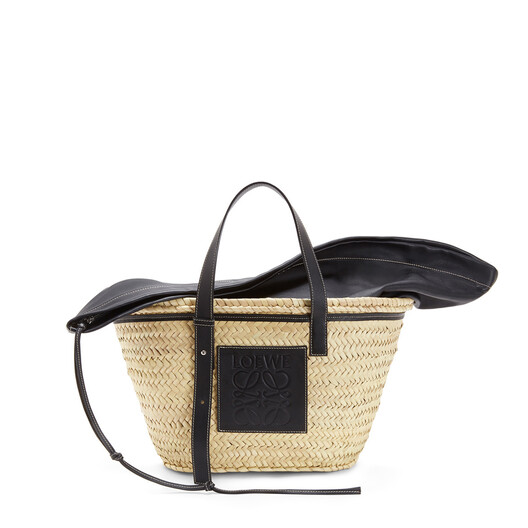 LOEWE Basket Bag Natural/Black front