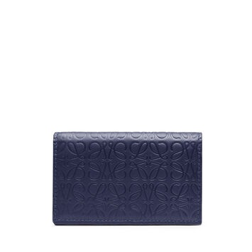 LOEWE Repeat Business Cardholder 海军蓝 front