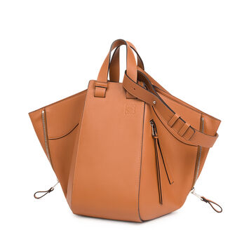 LOEWE Hammock Medium Bag 棕色 front