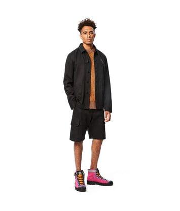 LOEWE Eln Workwear Jacket 黑色 front