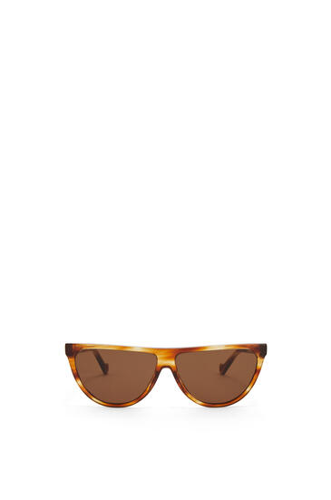 LOEWE Pilot Sunglasses in acetate Striped Havana pdp_rd