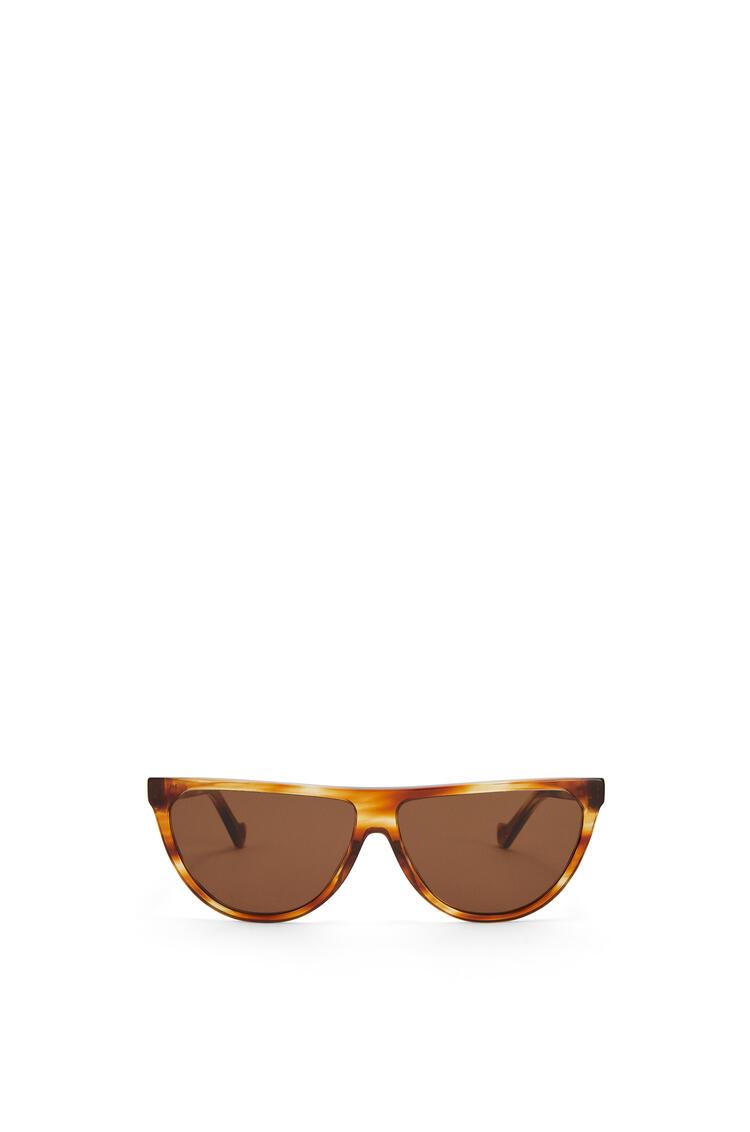 LOEWE Gafas de sol pilot en acetato Habana Rayas pdp_rd