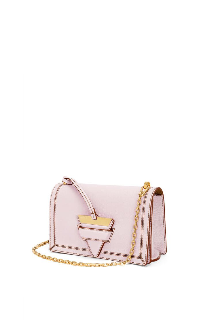 LOEWE Barcelona bag in soft grained calfskin Icy Pink pdp_rd