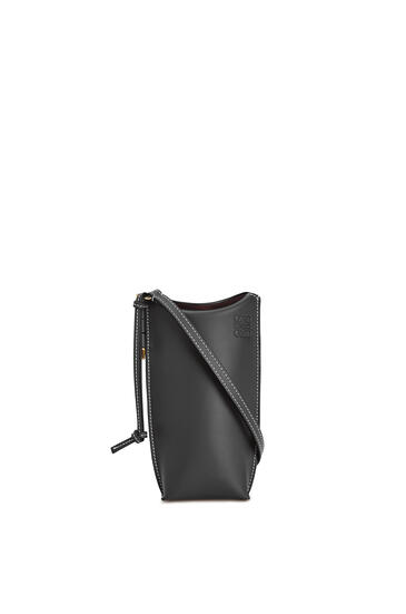 LOEWE Gate pocket in soft calfskin Black pdp_rd