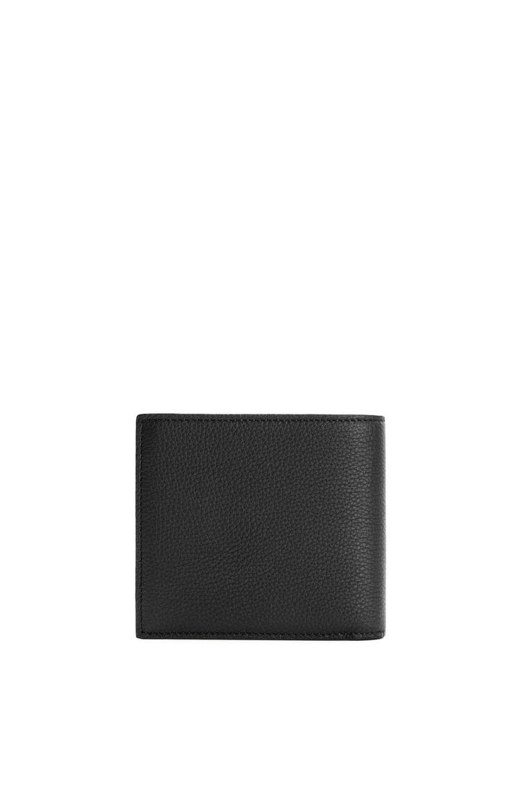 LOEWE Bifold coin wallet in soft grained calfskin Black pdp_rd