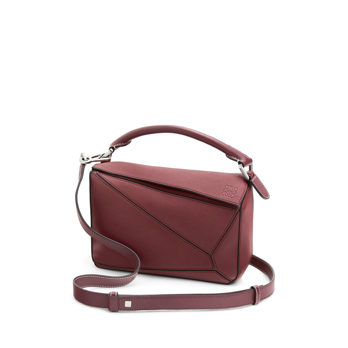 LOEWE Puzzle Small Bag Wine front