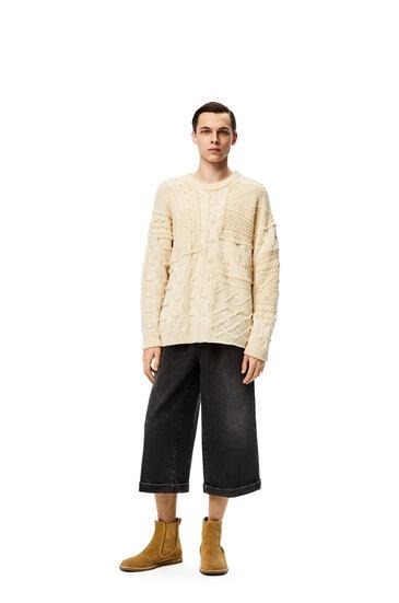 LOEWE 圆领针织毛衣 Off-white pdp_rd