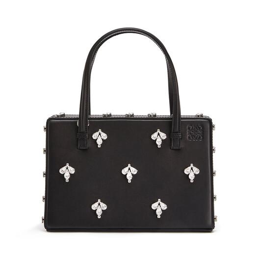 LOEWE Postal Crystals Bag Black front