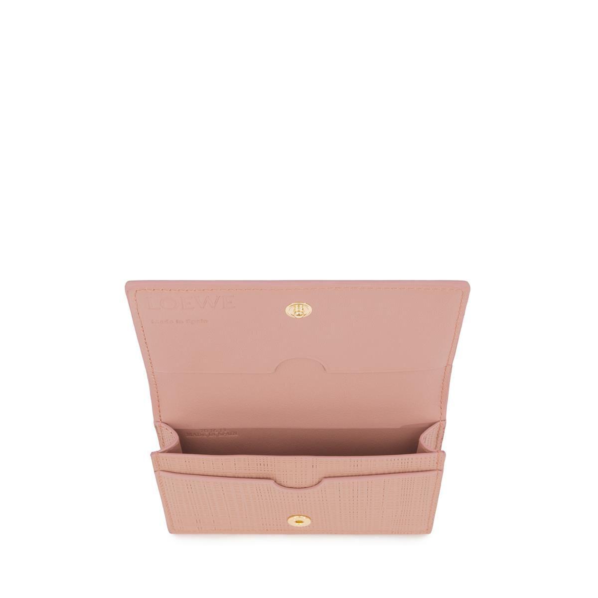 LOEWE Business Card Holder Blush all
