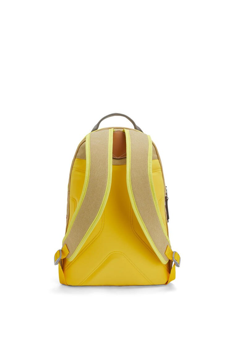 LOEWE Small Backpack In Canvas Gold pdp_rd