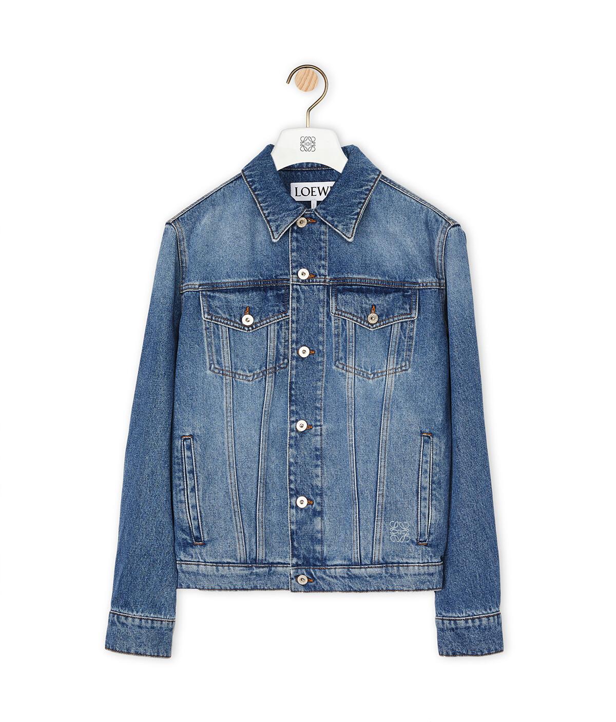 LOEWE Denim Jacket Blue front