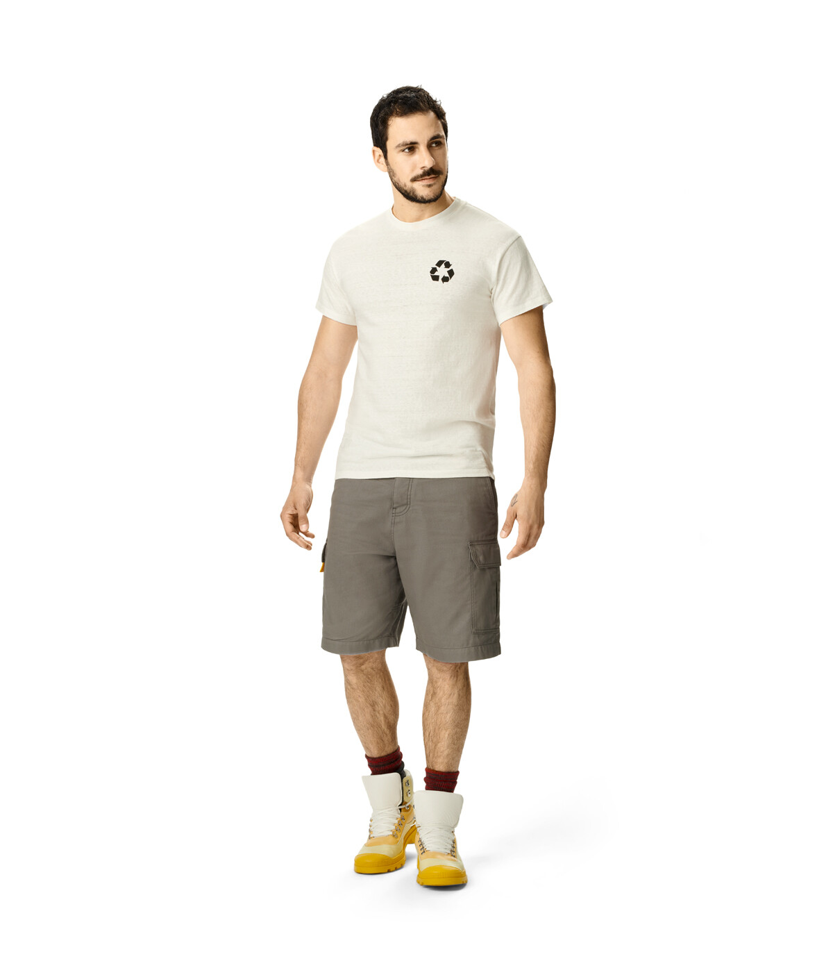 LOEWE Eln Cargo Shorts Charcoal front