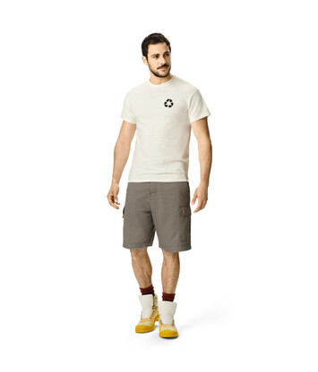 LOEWE Cargo Shorts Gris Carbon front