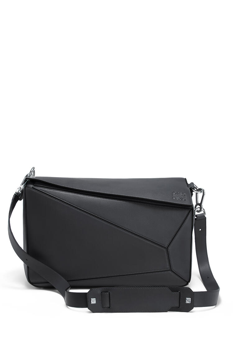 LOEWE XL Puzzle bag in natural calfskin Deep Blue pdp_rd