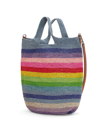 LOEWE Paula's Slit Rainbow Bag Multicolor front