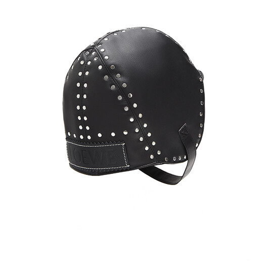 LOEWE Biker Cap Black front