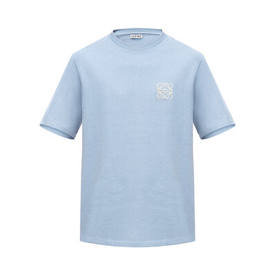 LOEWE Anagram T-Shirt Sky Blue front