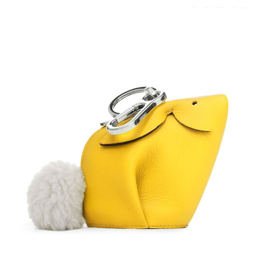 LOEWE Bunny Charm Yellow front