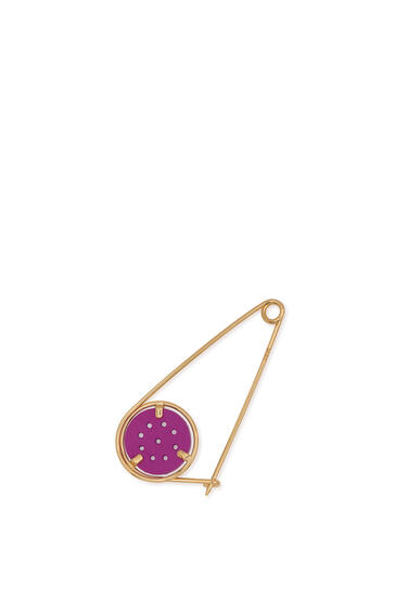 LOEWE Small Meccano Pin Lilac/Gold pdp_rd