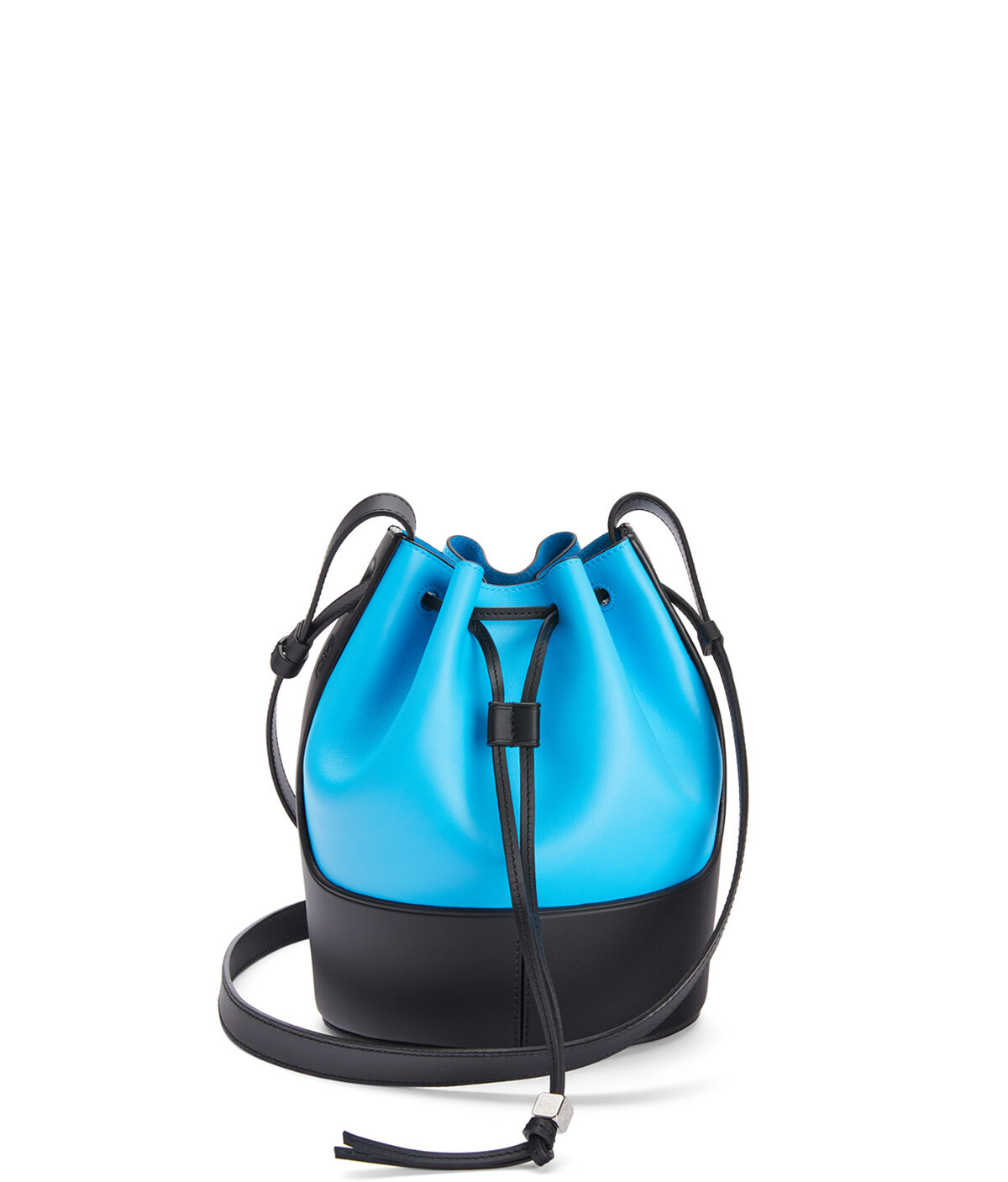 LOEWE Balloon Small Bag Topaz/Black front