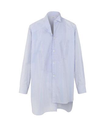 LOEWE Camisa Oversize Azul Claro/Blanco front