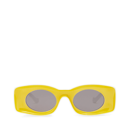 LOEWE Paula´S Original Sunglasses 黄色/白色 front