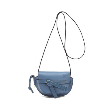 LOEWE Bolso Gate Mini Azul Varsity/Indigo front