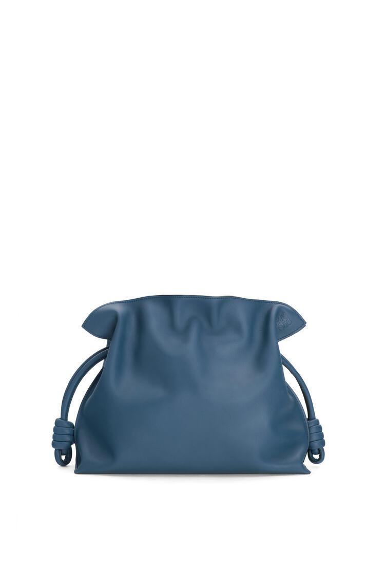LOEWE Flamenco clutch in nappa calfskin Varsity Blue pdp_rd