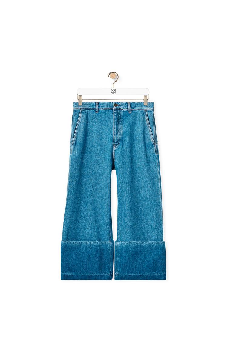 LOEWE 棉质渔夫牛仔裤 蓝色 pdp_rd