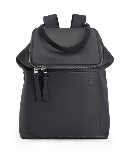 LOEWE Goya Backpack Deep Blue front