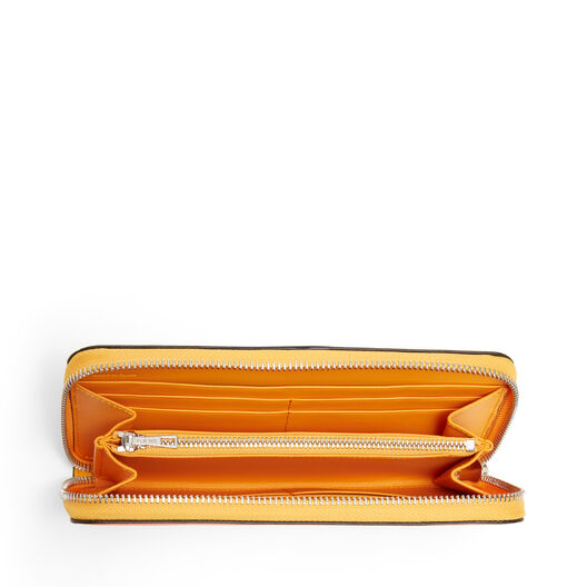 LOEWE Billetero C/Cremallera Puzzle Naranja/Mandarina all