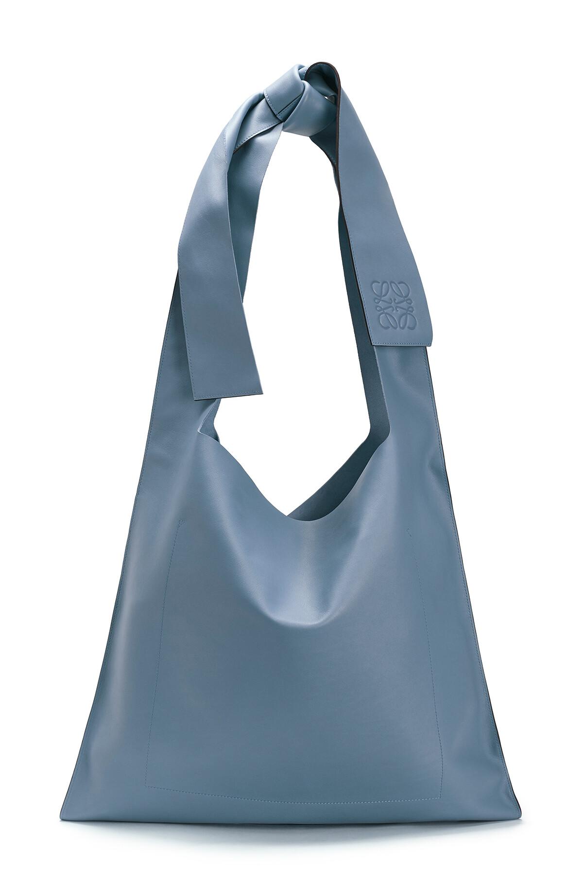 LOEWE Bow Bag Steel Blue front