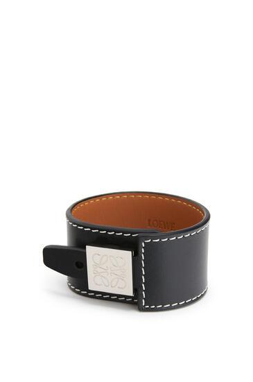 LOEWE Bracelet in calfskin Black pdp_rd