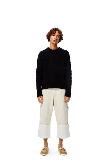 LOEWE Jersey de punto en algodón Marino pdp_rd