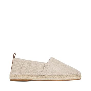 LOEWE Espadrille Repeat Stone front