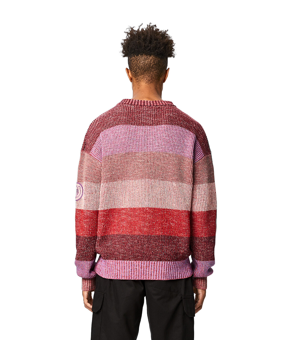 LOEWE Eln Stripe Sweater Multicolor front
