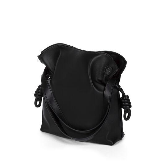 LOEWE Flamenco Knot Small Bag Black all
