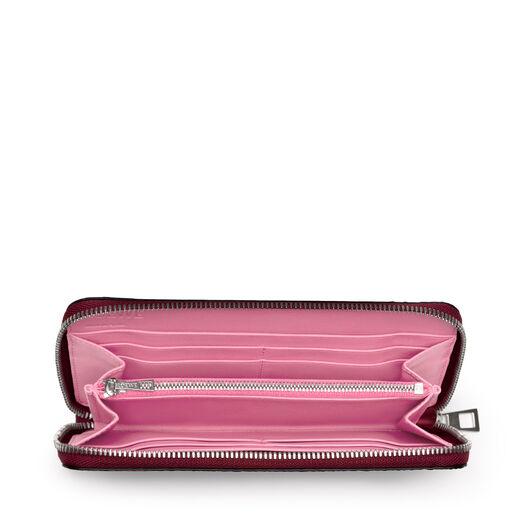 LOEWE Zip Around Wallet Raspberry all
