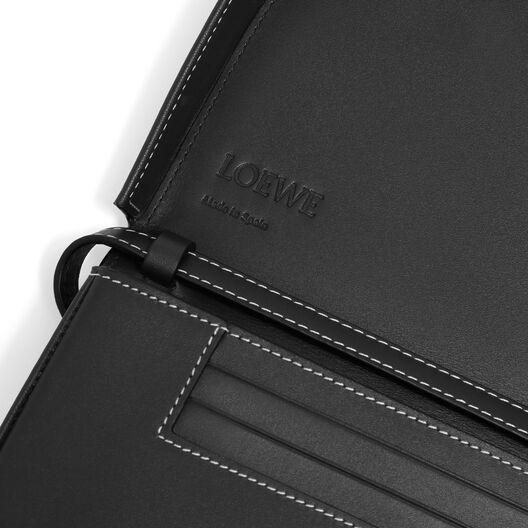 LOEWE Heel Mini Bag Jeweled Black front