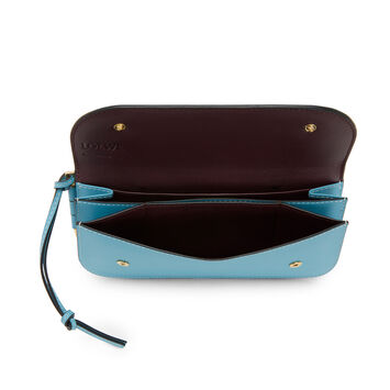 LOEWE Gate Continental Wallet Light Blue front
