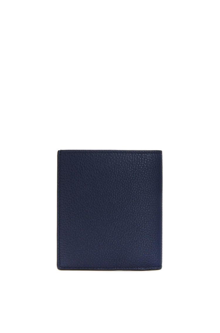 LOEWE Bifold wallet in grained calfskin Ocean pdp_rd