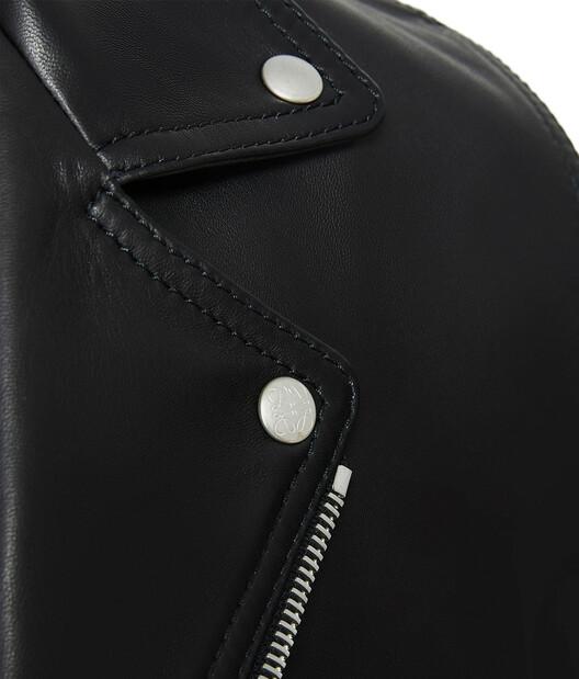 LOEWE Biker Jacket 黑色 front