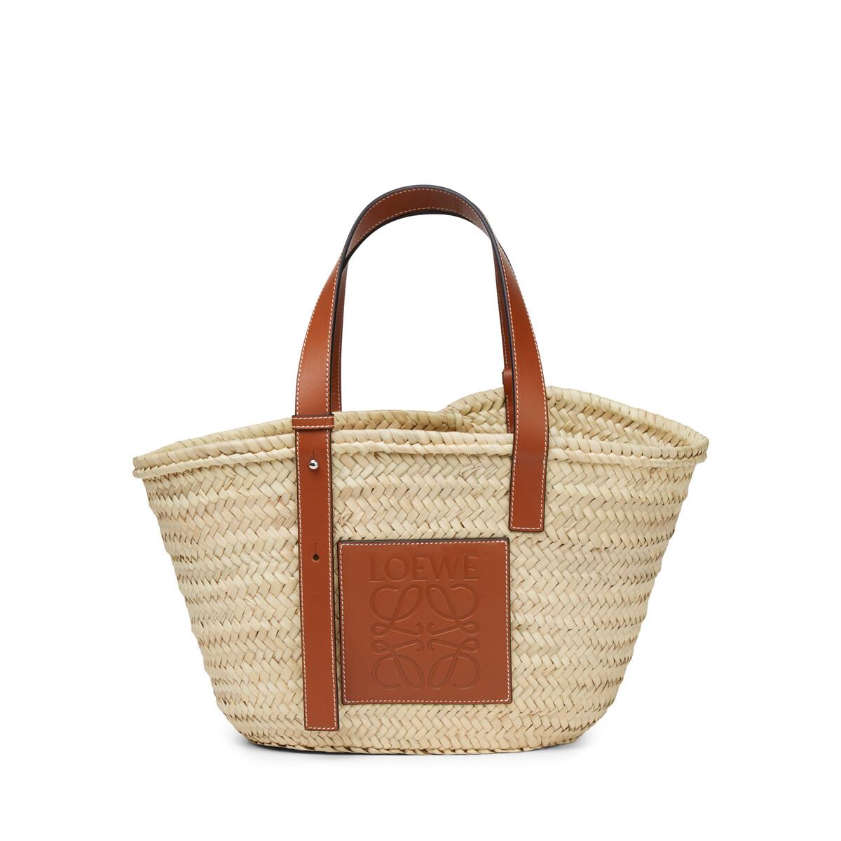 LOEWE Basket Bag Natural/Tan front