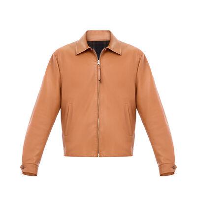 LOEWE Reversible Zip Blouson 棕色 front