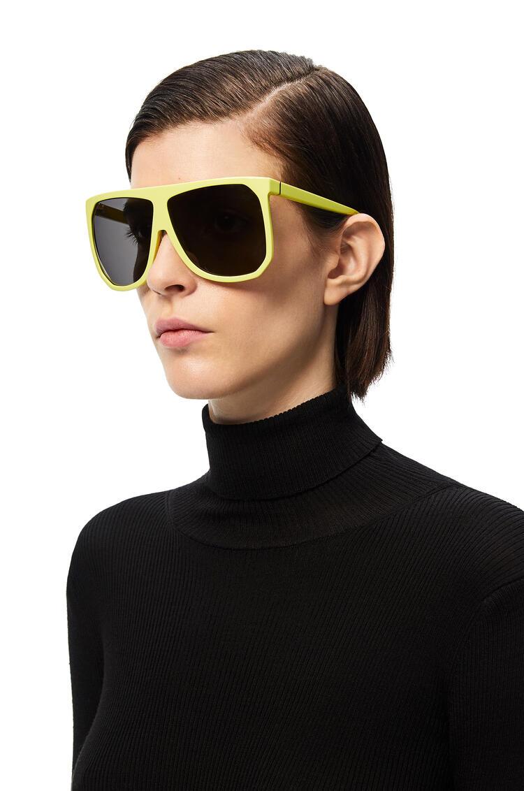 LOEWE 醋酸纤维 Filipa 太阳镜 Neon Yellow pdp_rd