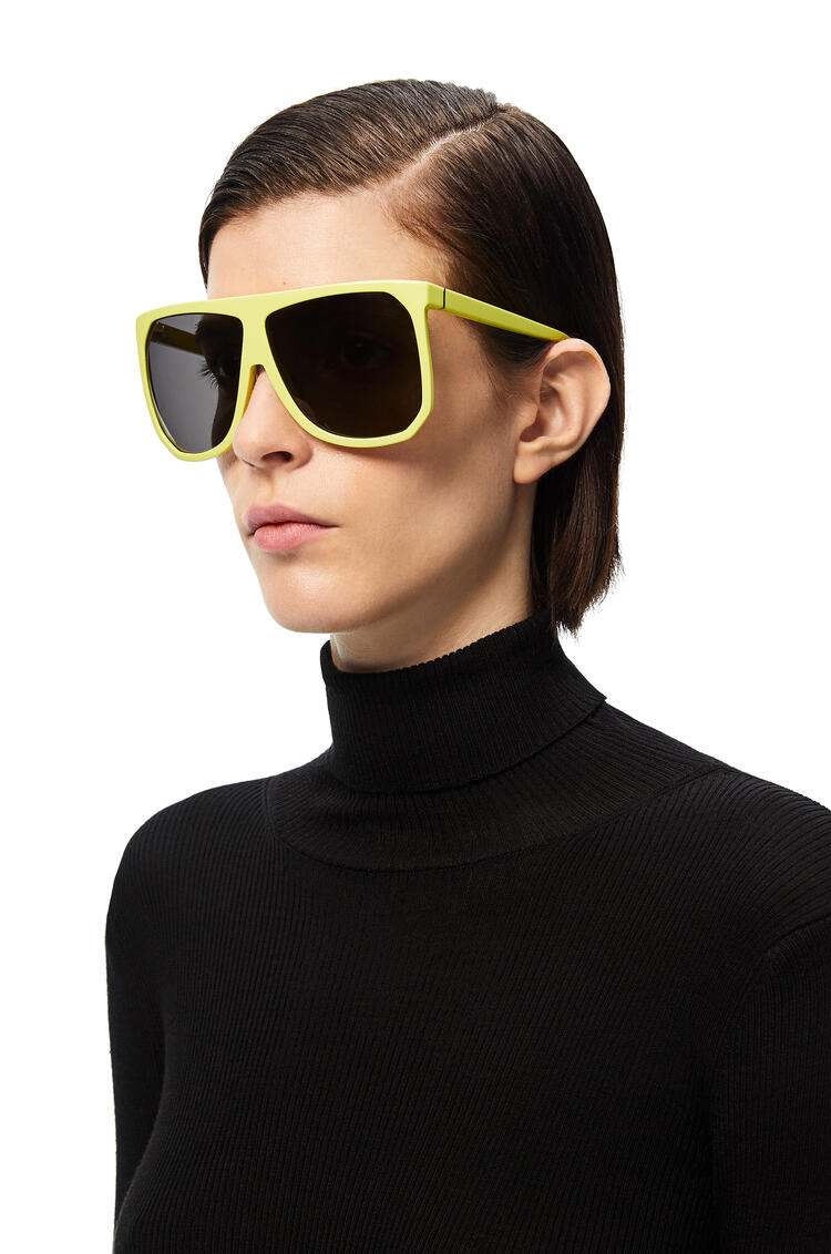 LOEWE Gafas de sol Filipa en acetato Amarillo Neon pdp_rd